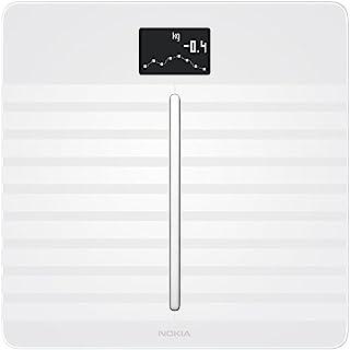 Nokia health Body Cardio - Báscula wifi de salud cardíaca y composición corporal, Blanco
