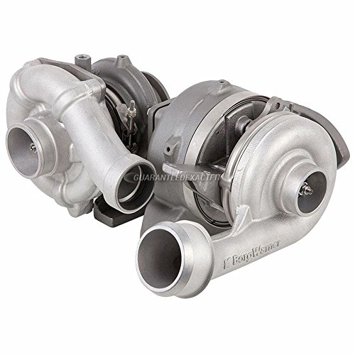 High & Low Pressure Compound Turbo Turbocharger For Ford F250 F350 F450 Super Duty 6.4L PowerStroke Diesel 2008-2010 - BuyAutoParts 40-30165R Remanufactured