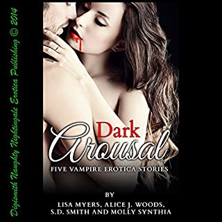 Dark Arousal audiobook cover art