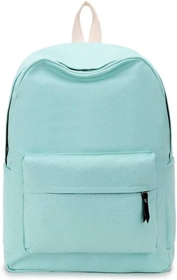 Backpack Fashion Backpack Women Backpack Solid Color Travel Casual School Bag for Teenaged Girl Pink 2, Size