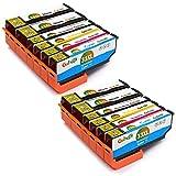 Gohepi 12 Multipack 33XL Alta Capacidad Cartuchos de tinta Compatible para Epson 33 33XL con Epson Expression Premium XP-640 XP-530 XP-830 XP-645 XP-540 XP-900 XP-630 XP-635 XP-7100