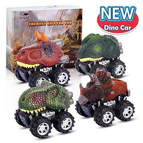 ATOPDREAM Coche de Juguete de Dinosaurios - Regalos para los niños