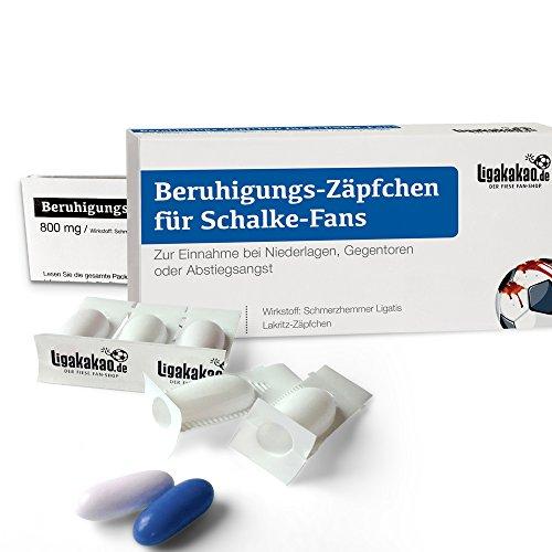 Alles für Schalke-Fans by Ligakakao.de Geschenk männer ist jetzt BERUHIGUNGS-ZÄPFCHEN