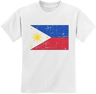 Tstars - Vintage Philippines Flag Retro Style Youth Kids T-Shirt