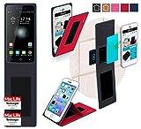 reboon Hülle für Switel eSmart H1 Tasche Cover Case Bumper | Rot | Testsieger