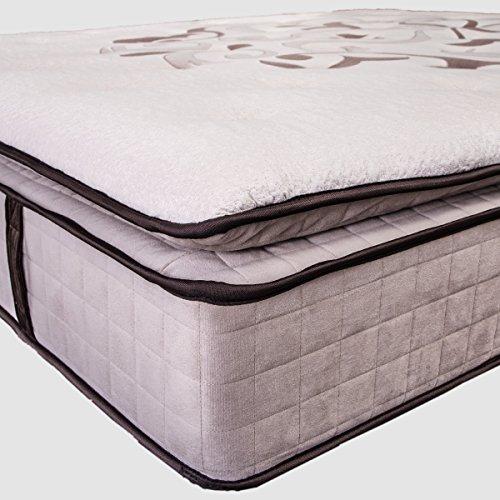 Blossom Premium Matelas confort luxe, Hyper Soft, Multi Zone Ressorts Ensachés, mousse...