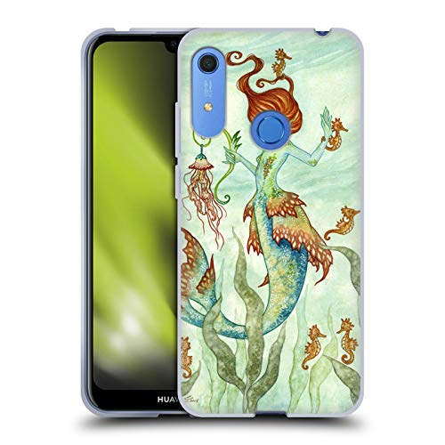 Head Case Designs Licenciado Oficialmente Amy Brown Guardián del Caballo Hadas Elementales Carcasa de Gel de Silicona Compatible con Huawei Y6 / Y6s (2019)