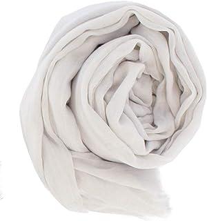 [マコッカ] 年中使える 手洗いができる 大判 無地 ストール 152cm×202cm