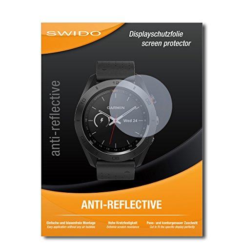 SWIDO Bildschirmschutzfolie für Garmin Approach S60 [3 Stück] Anti-Reflex MATT Entspiegelnd, Extrem Kratzfest, Schutz vor Kratzer/Folie, Bildschirmschutz, Schutzfolie, Panzerfolie