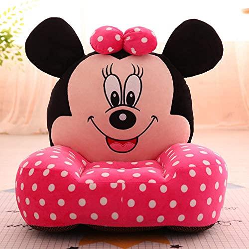 SillóN Infantil Espuma Niño pequeño sofá dibujos animados lindo ratón peluche juguetes for niños pequeños asiento cómodo sofá plegable sofá baby asiento bebé asiento niño cumpleaños regalos de año nue