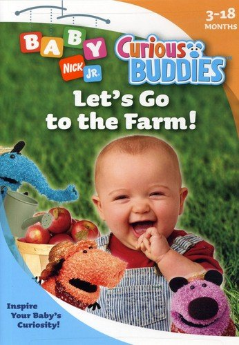 Nick Jr Baby Curious Buddies: Let's Go to the Farm [DVD] [Region 1] [US Import] [NTSC]