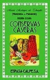 """Conservas caseras (FUERA DE COLECCIÃ""""N Y ONE SHOT)"""
