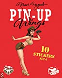 Pin-Up Wings stickers set 2...