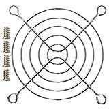 オウルテック 金属製ファンガード 8cm シルバー FANGuard-M8/II