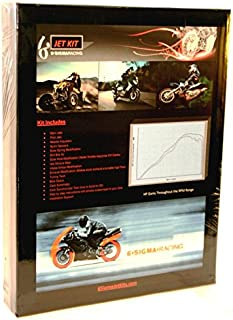 6 Sigma Carb Jet Kit fits Honda CM400T CM400 CM 400 T Twin Custom Performance Stage 1-3 Carburetor Jetting