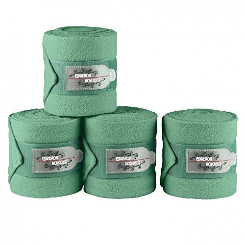 Eskadron Fleece Bandages (Set=4 Stück) (CS ltd.SS17), midgreen, Vollblut/Warmblut