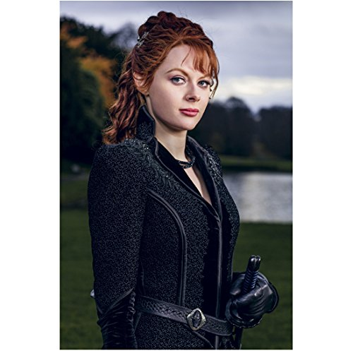Into the Badlands Emily Beecham as The Widow body facing to the right looking forward 8 x 10 Inch Photo