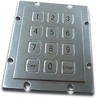 Metal Keypad - 12 Keys - USB - Numeric Keypad