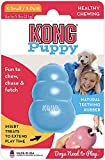 KONG - Puppy Toy - Natural Teething Rubber - Fun to Chew, Chase and Fetch - for Extra Small Puppies (Color May Vary)