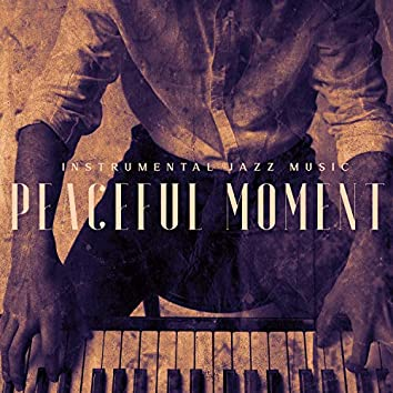 Instrumental Jazz Music: Peaceful Moment for Relaxation. Evening After Work with Classical Piano Sounds