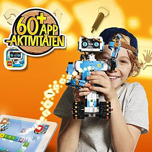 LEGO 17101 Boost Programmierbares Roboticset, 5-in-1 App-gesteuertes Baumodell mit einem programmierbaren, interkativen Roboter-Spielzeug und Bluetooth Hub, Programmierset für Kinder - 4
