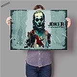 IHlXH Movie Joker Nursery Kids Room Room Art Decor Home Decor Posters Wall Art Painting Canvas Painting 8 50 x 90 cm sin Marco