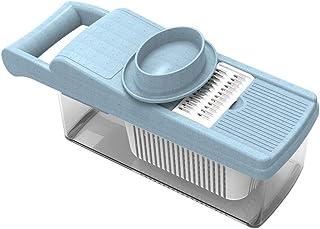 ZHTY 6 en 1 Coupeur de légumes Food Contact Niveau PP Matériau PP sans BPA Cuisine Manuel Professionnel Slicer Slicer Grat...