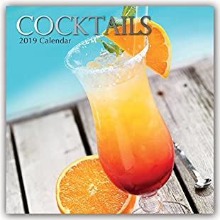 Cocktails  2019 Square Wall Calendar:Kisaran