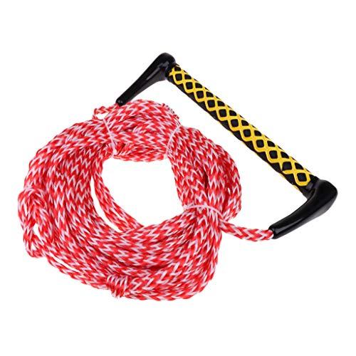 P Prettyia Surf Leash, Elástico Flexible Cordón para Deportes acuáticos Longitud 22 m en Espiral Cuerda de navegar Esquí