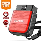Autel AP200M OBDII Scanner Bluetooth Diagnostic Scan Tool for iPhone & Android, Car Check Engine Light Code Reader with Full System, Oil, SAS, BMS, EPB, DPF, Throttle Reset Services