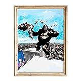 FANART369 King Kong #4 Poster A3 Größe Filmposter