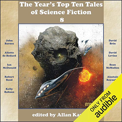 『The Year's Top Ten Tales of Science Fiction 8』のカバーアート