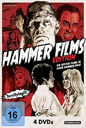 Hammer Film Edition [4 DVDs]