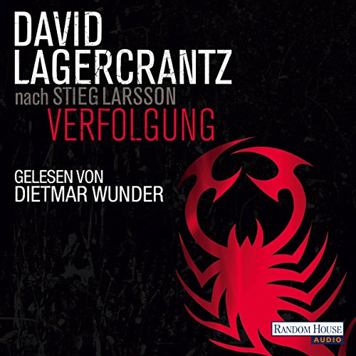 Verfolgung (Millennium 5) audiobook cover art