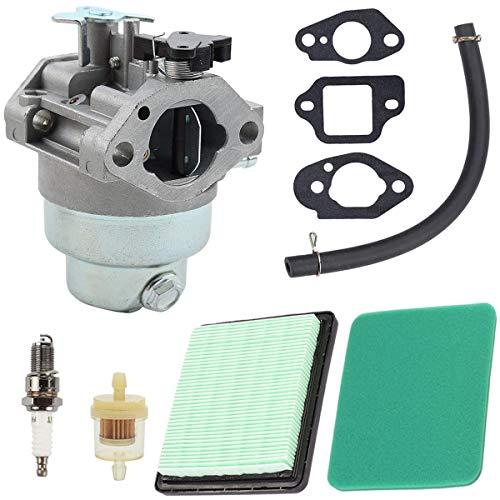 NC56 ZAMDOE Vergaser GCV160 für Honda GCV160A GCV160LA GCV160LE Motoren HRB216 HRR216 HRS216 HRT216 HRZ216 Rasenmäher Ersatzteile mit Luftfilter Luftfilterdeckel