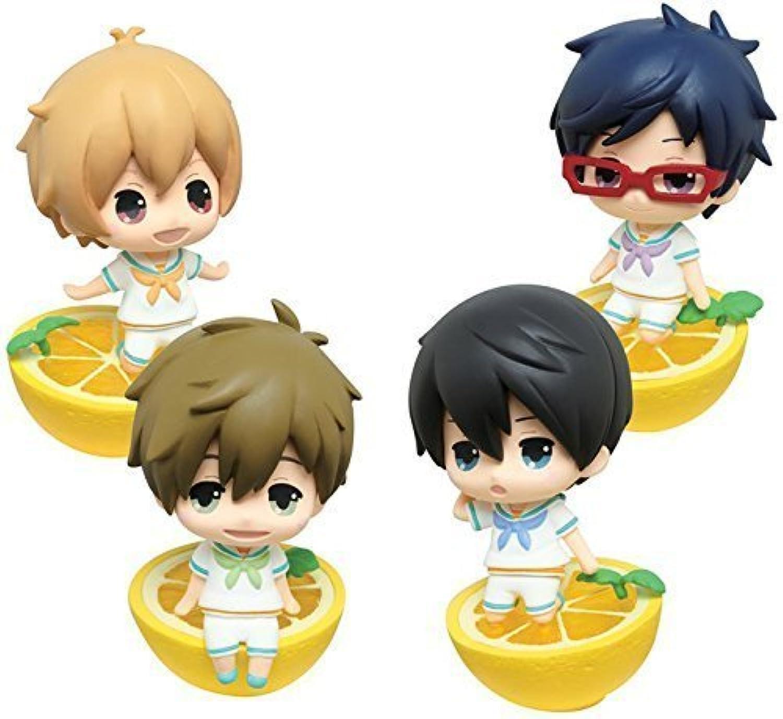 Taito lottery Free  Eternal Summer Iwatonbi deformed figures Award set of 4