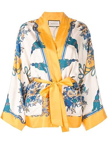 Luxury Fashion | Gucci Dames 550955ZAANR7222 Geel Zijde Vesten | Herfst-winter 19