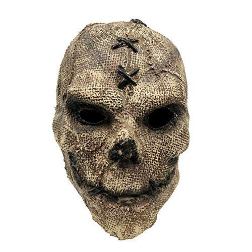XWYWP Mscara de Halloween Horror Killer Skull Mask Cosplay Esqueleto Mscaras de Ltex Casco de Halloween Fiesta Props Skullmask