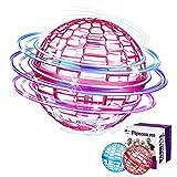 Flynova pro,Sfera volante rotante a 360° con luce,3 colori per la decompressione giocattolo volante,Adatto...