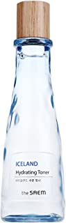 [the SAEM] Iceland Hydrating Toner 5.41 fl.oz. (160ml) - Intensive Hydration with Iceland Mineral Water, Softening Boosting Facial Toner, Soothes Irritated & Senstivie Skin