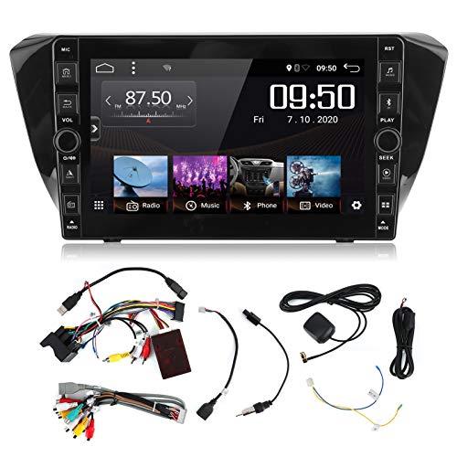 Navegador de coche KIMISS, 9in 1080P HD Navegación GPS para coche Bluetooth 5.0 Botón de audio y vídeo para 2016-2019