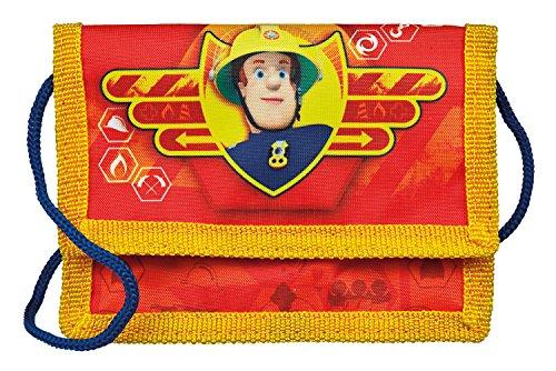Undercover FSBT7000 Geld-Brustbeutel, Feuerwehrmann Sam, ca. 13 x 9 x 5 cm