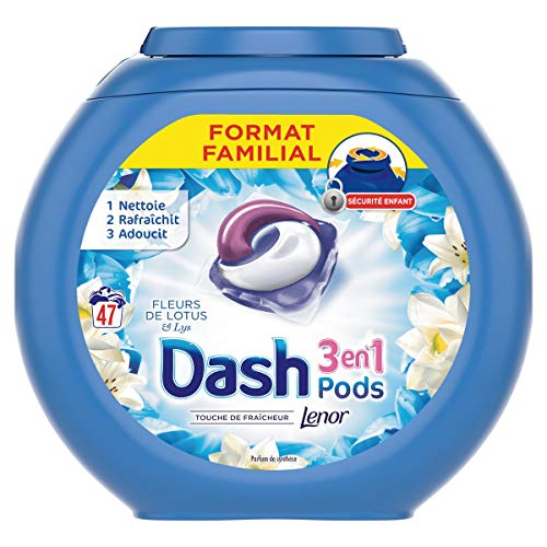 Dash 3 en 1 Pods, Lessive Capsule, 141...