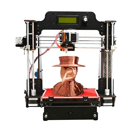 Impresora 3D GIANTARM Prusa I3 Pro W, kit de bricolaje puro, sistema de control desarrollado por GT2560, tarjeta de memoria SD, software EasyPrint 3D, 200 x 200 x 180 mm