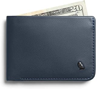 Bellroy Hide & Seek, slim leather wallet, RFID editions available (Max. 12 cards and cash) - Basalt
