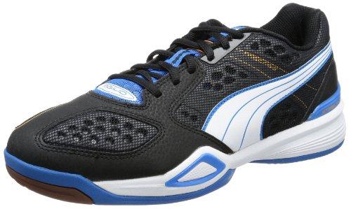 PUMA Agilio Mens Indoor Court Shoes Badminton Squash Volleyball Sneakers-Black-12