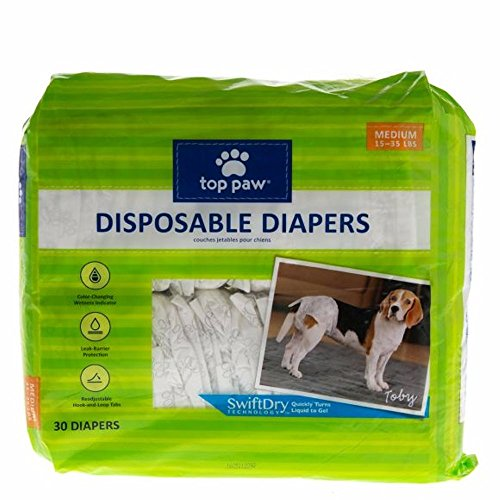Top Paw Disposable Dog Diapers Female