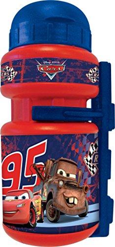 Disney 35545 - Bidón para Bicicleta Infantil (250 ml), diseño de Cars, Color Rojo