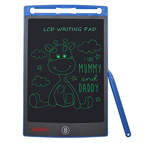Tableta de Escritura LCD 8.5 Inch, NOBES LCD Tablero de Dibujo Pizarras mágicas,Tablet para Niños,Juguetes Regalos para Niños,Juegos Educativos (Azul)