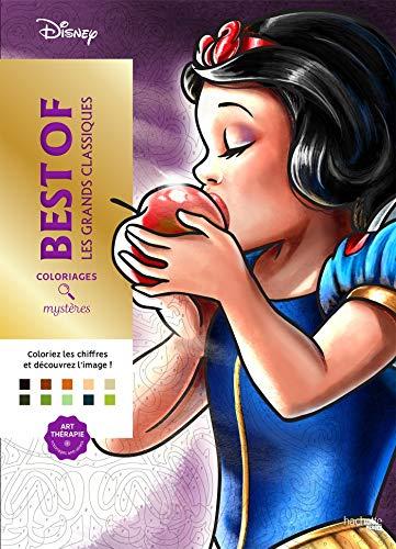 Coloriages mystères Grands classiques Disney Best of